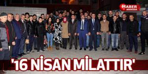 TAŞÇI '16 NİSAN MİLATTIR'