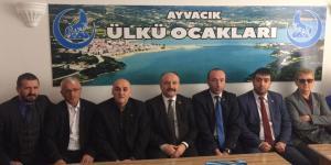 MHP Heyeti Ayvacık'ta Evet'i anlattı