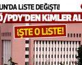 Samsun Valiliği FETÖ Listesini Açıkladı!