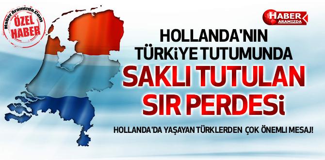 Hollanda'nın Türkiye Tutumunda Arka Perde