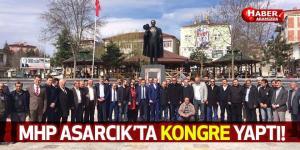 MHP Asarcık'ta Kongre Yaptı! Yeni Başkanını Seçti!