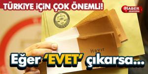 Türkiye için çok önemli karar! Eğer evet çıkarsa…