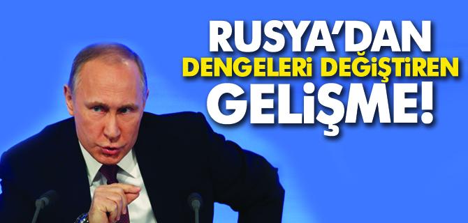 Rusya'dan Dengeleri Değiştiren Gelişme!