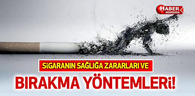 Yeşilay Haftası! Sigaranın sağlığa zararları ve bırakma yöntemleri!