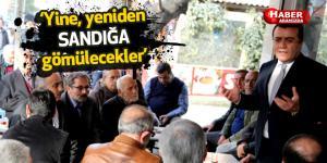 Başkan Taşçı'dan referandum yorumu 'Yine, yeniden sandığa gömülecekler'