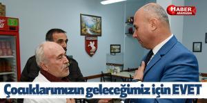 Başkan Togar Güçlü Türkiye için 'EVET' diyeceğiz