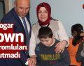 Başkan Togar Down Sendromlular gününü unutmadı