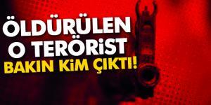 Ağrı'da Öldürülen O Terörist Bakın Kim Çıktı!
