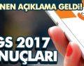 Yükseköğretime Geçiş Sınavı YGS Sonuçları 2017 Açıklandı