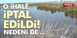 Liman Gölü Su Ürünleri İstihsal Hakkı İhalesi İptali