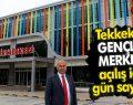 Tekkeköy Gençlik merkezi açılış için gün sayıyor