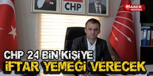 CHP İlkadım Samsun'da İftar Çadırı Kuruyor