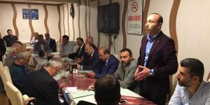 Samsun'da MHP'liler İftarda buluştu