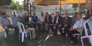 MHP'den Şehit Uzman Çavuş Nejat Yaman'ın Ailesine Taziye Ziyareti