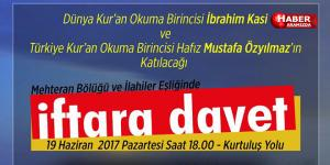 MHP Samsun'dan iftara davet