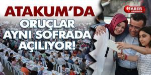 Atakum, Ramazanda kucaklaştı