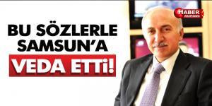 Samsun Valisi İbrahim Şahin Böyle Veda Etti!