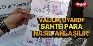 Uyarı! Sahte Para Nasıl Anlaşılır!