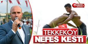 Tekkeköy Belediyesi 7. Geleneksel Yağlı Güreşleri
