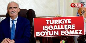 Türkiye işgallere boyun eğmez