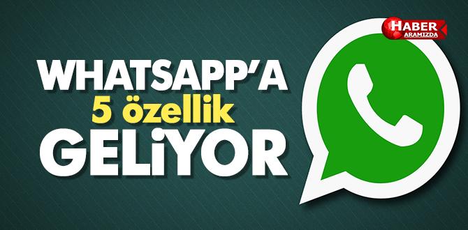 Whatsapp'a Yakında Gelmesi Beklenen 5 Özellik