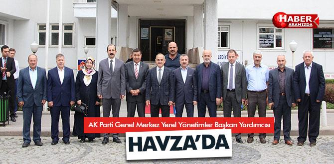 Milletvekili Mehmet Geldi, Havza'da