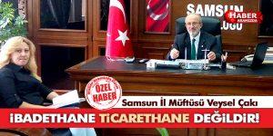 MÜFTÜ 'İBADETHANE TİCARETHANE DEĞİLDİR'