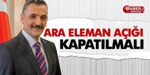 Samsun'da Ara Eleman Açığı Kapatma Çalışmaları
