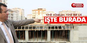 Samsun'un en kapsamlı projesi Atakum'da