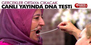 CANLI YAYINDA DNA TESTİ!