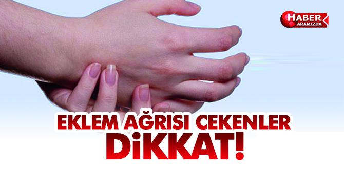 EKLEM AĞRISI ÇEKENLER DİKKAT!