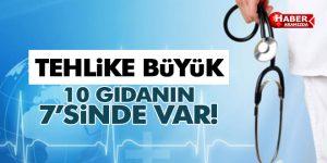 HER 10 GIDA MADDESİNİN 7'Sİ İŞLENMİŞ!