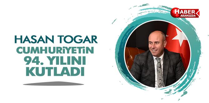 Başkan Togar'ın 29 Ekim kutlama mesajı