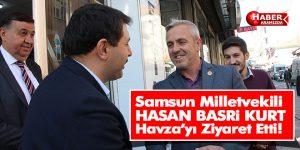 Samsun Milletvekili Hasan Basri Kurt Havza'da