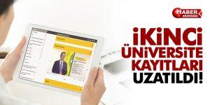 İkinci Üniversite Kayıtları 13 Ekim'e Uzatıldı