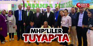 Samsun MHP'den Tuyap Tarım Fuarına Ziyaret
