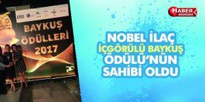 NOBEL İLAÇ İÇGÖRÜLÜ BAYKUŞ ÖDÜLÜ'NÜN SAHİBİ OLDU