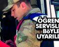 Samsun'da Öğrenci Servisleri Böyle Uyarıldı