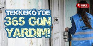 Tekkeköy'den Sosyal Belediyecilik