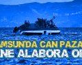 Samsun'da Alabora Olan Teknede Can Pazarı