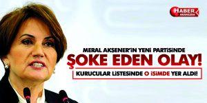 Akşener'in Partisinde Şoke Eden Olay!