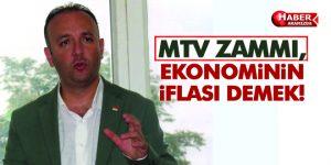 MTV ZAMMI, EKONOMİNİN İFLASI DEMEK