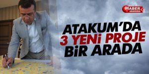 Atakum'da 3 proje bir arada!