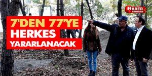 Meşe Orman Park projesi ilerliyor
