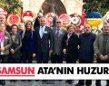 CHP SAMSUN ATA'NIN HUZURUNDA
