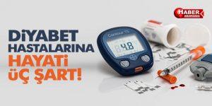 Kan şekeri kontrolü için ara öğün atlanmamalı