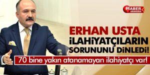 Erhan Usta İlahiyatçıların Sorununu Dinledi