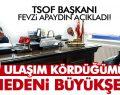 TSOF BAŞKANI FEVZİ APAYDIN AÇIKLADI!