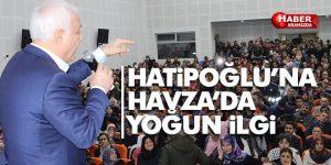 Prof. Dr. Nihat Hatipoğlu, Havza 'da sevenleri ile bir araya geldi