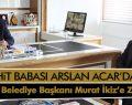 Şehit Babası Acar'dan Havza Belediye Başkanı Murat İkiz' Ziyaret
